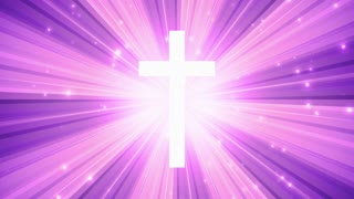 Worship Cross Light Rays