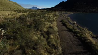 Ecuador Wilderness Aerial on path