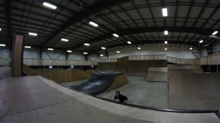 Extreme Bike Riding - Awesome Tailwhip Trick in Skateboard Park