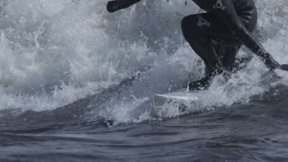 Extreme Slow Motion Surfing