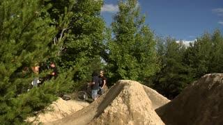 Extreme Sport - BMX Crash 360 on Jump