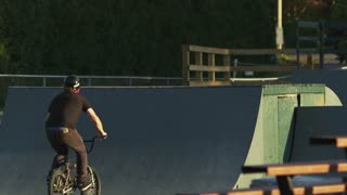 Extreme Sport BMX Skateboard Park