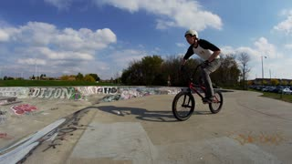 Extreme Sports BMX trick - Awesome Riding on a bike