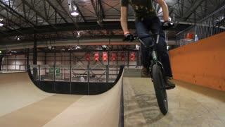 Extreme Sports Crash - BMX Bike Skateboard Park fall