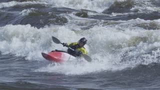 Extreme White Water Kayaking