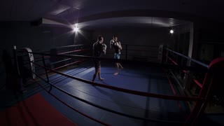 Mixed Martial Arts Fighters in the Ring