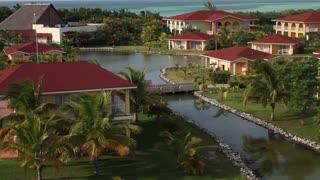 Overview of Cuban Resort in Peak Season