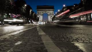 Paris France and the Iconic Arc De Triomphe