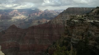 Scenic View of America's Famous Grand Canyon National Park