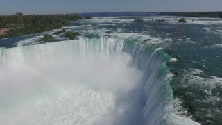 The majestic Niagara Falls - Incredible Aerial view