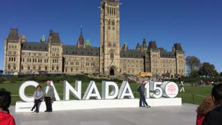 Tourism in Ottawa Canada on the 150th anniversary