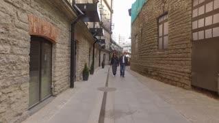 Walking Through The Narrow Streets Of Tallinn Estonia