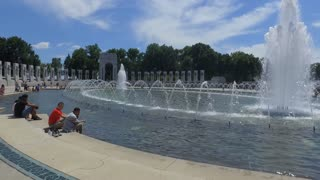 World War 2 Memorial in Washington DC