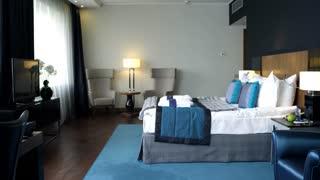 Hotel Room for Businesswomen