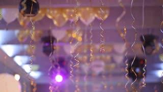 Balloons at a Birthday Party