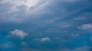 Blue Clouds Timelapse
