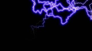 Chaotic Lightning Animation