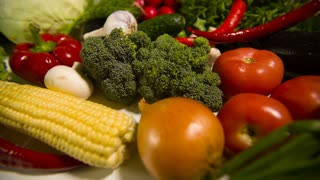 Different Raw Vegetables