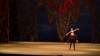DONETSK, UKRAINE- 12 March 2016: Ballet. Thousand and One Nights