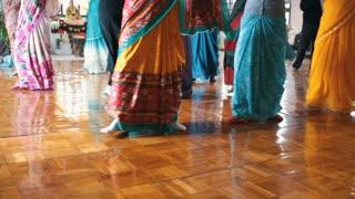 Donetsk, Ukraine - Devotees from Hare Krishna Dancing