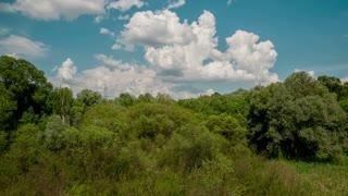 Flying Scenic Landscape