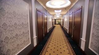 Interior Corridor Hotel
