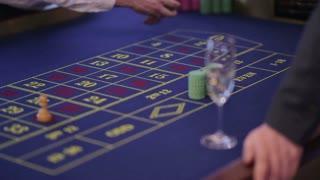 Man gets won chips at casino