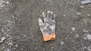 Old Construction Glove