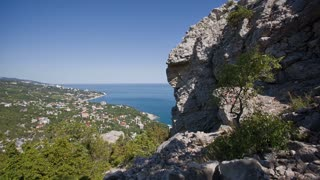 Scenic View of Yalta From Mountain