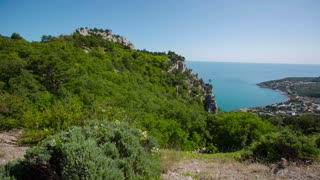 Scenic Views of the Sea From the Mountain