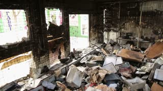 Store After the Artillery Strike