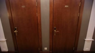 Two Doors in Hotel