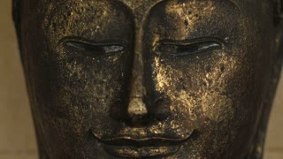 Face of Buddha at the temple