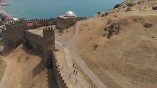 Fortress wall in Sudak