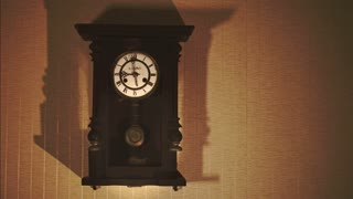 Vintage Clock on the Wall