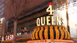 4 Queens hotel and casino on Fremont Street