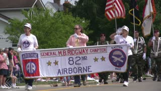 82nd Airborne in Parade