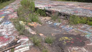 Abandoned town of Centralia Pennsylvania 4k