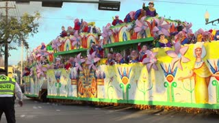 Aida Float in Endymion Parade 2014