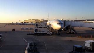 American Airlines Prepare For Flight At Dallas Fort Worth International Airport