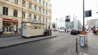 American Sector at Checkpoint Charlie Berlin
