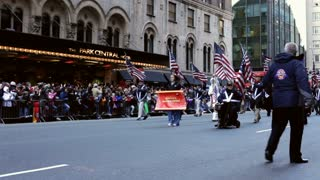 America's veterans united in Macy's parade