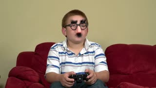 Anonymous online child playing video games