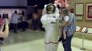 Astronaut suit at Airforce Museum