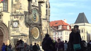 Astronomical clock located in Prague.