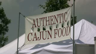 Authentic Cajun Food Banner