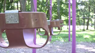 Baby Swing Side View