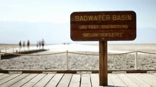 Bad Water Basin Sign