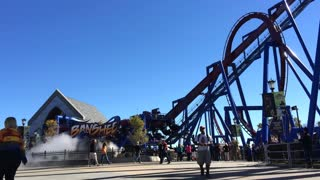 Banshee Inverted Roller Coaster at King's Island