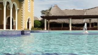 Beautiful Swimming Pool on Sunny Day